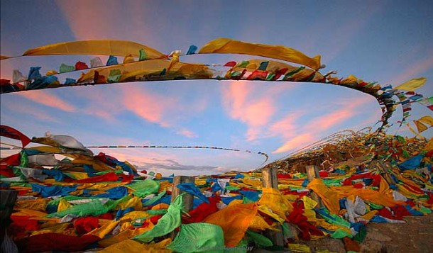 The Message of Tibetan Prayer Flags