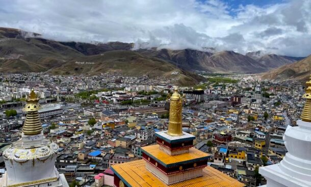 The Saka Dawa Activities in Tibet.