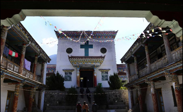 Yanjing Catholic Church in Tibet - Tibet Travel Information by Explore Tibet