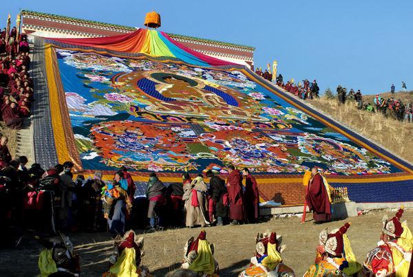 Zhalu Monastery-Tibet.