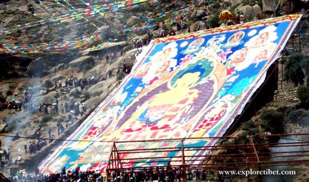 2015 Tibet Shoton festival Celebrates from Aug 14th.
