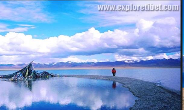 Tso Ngopo-Blue Sea-Tibet.