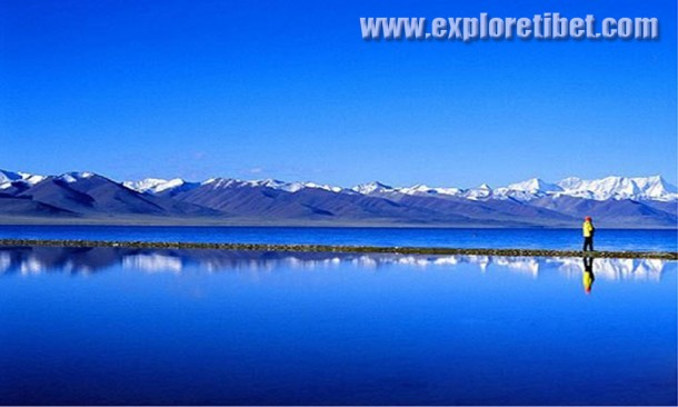 Namtso Lake Of Tibet-The Holy Salt-Water.