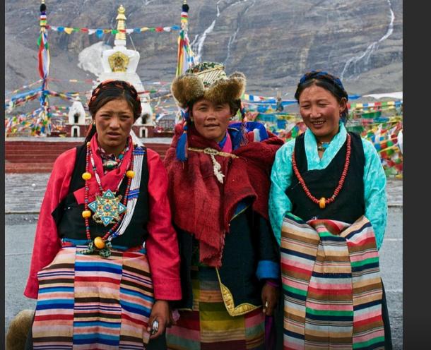 Tibetan Women-Divine And Generous Heart.