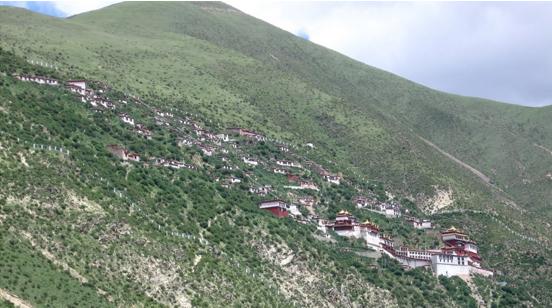 Drigung Til Monastery-Tibet.