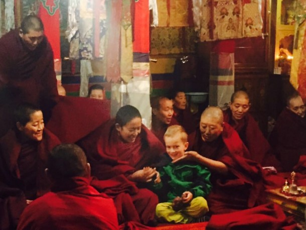 Garu La Nunnery-Tibet.