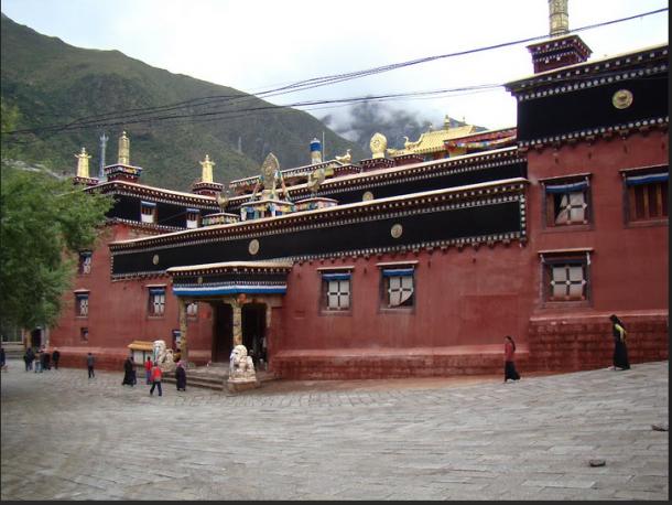 Gonchen Or Derge Monastery In Kham-Tibet.