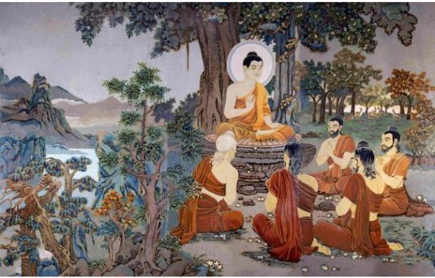 Hinayana And Mahayana In Buddhism-Tibet.
