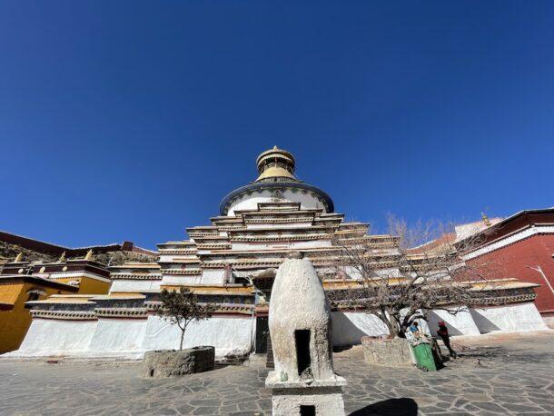 Kumbum Stupa in Gyantse