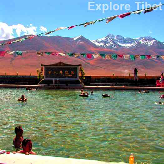 Hot Springs in Tibet - Explore Tibet