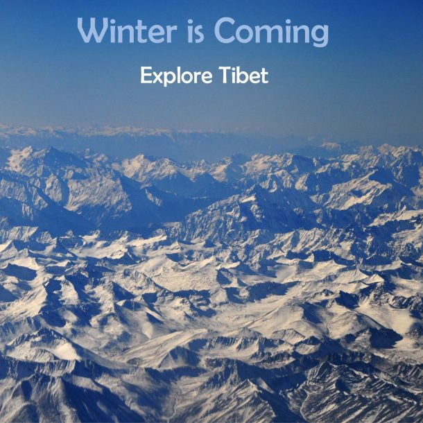 Traveling in Tibet in Winter