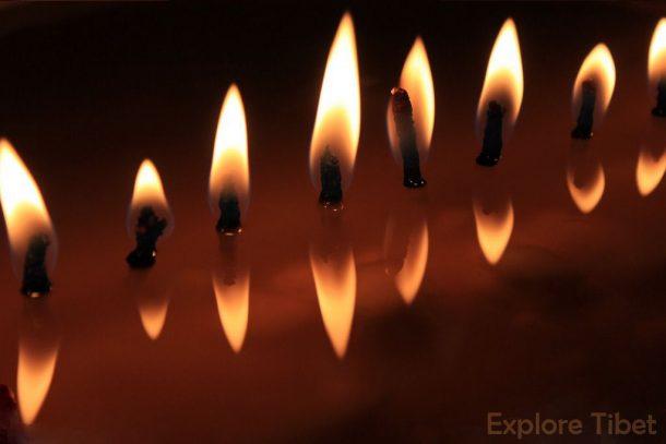 Tibetan Butter Lamp