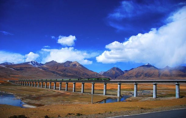 Traveling from Nepal to Tibet by Train