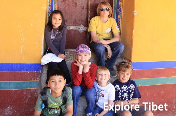 Taking a Tibet Tour with Kids