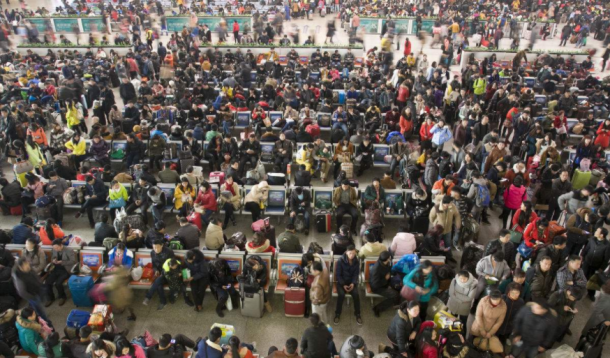 Chunyun A Massive Travel Month with 2.98 Billion People Travels Just Before The Chinese New Year.