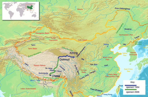How to travel to Tibet from Xining