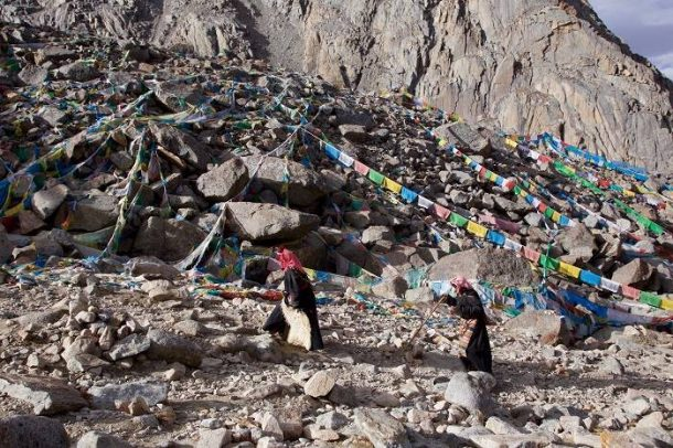 The Saga Dawa Festival at Mount Kailash