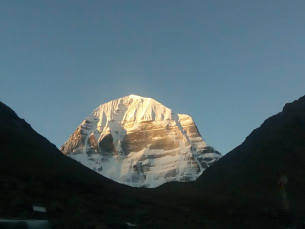The Mount Kailash -one of the most sacred mountains in Tibet. -Explore Tibet