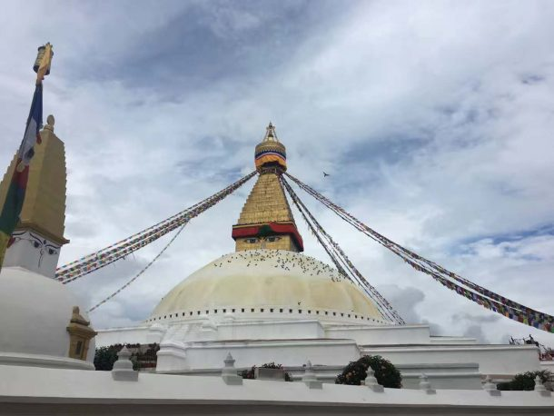 Boudhanath Stupa in Kathmandu -Explore Tibet