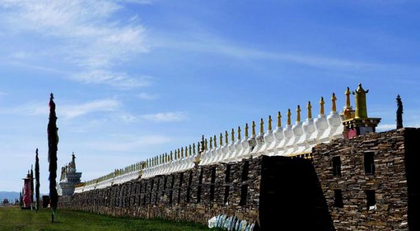 Bage Mani Stone Wall –the longest mani stone wall in the world