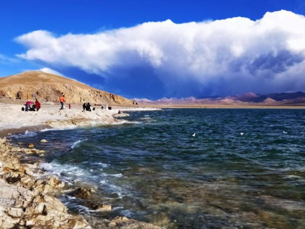Lake Namtso -One of the Great Three Holy Lakes of Tibet