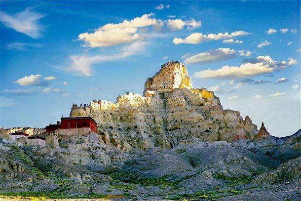 The Guge Kingdom in western Tibet