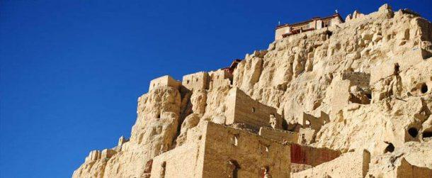 Abandon castle of Guge