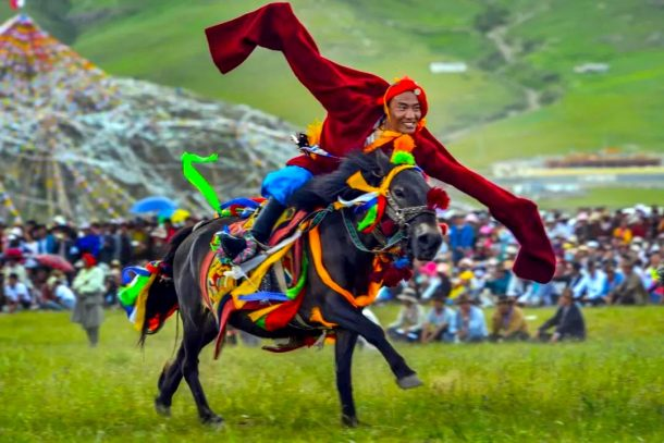 Yushu Horse Festival in 2019