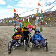 20 days Tibet Biking Adventures