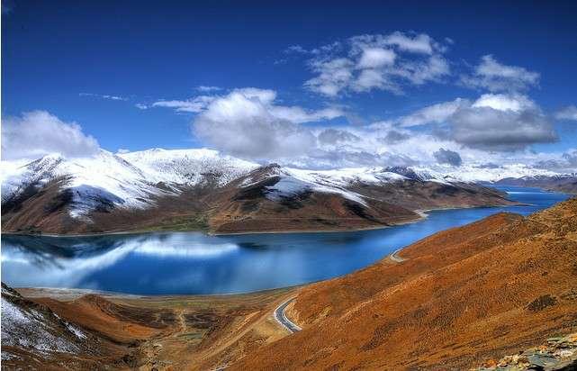 Kết quả hình ảnh cho yamdrok lake