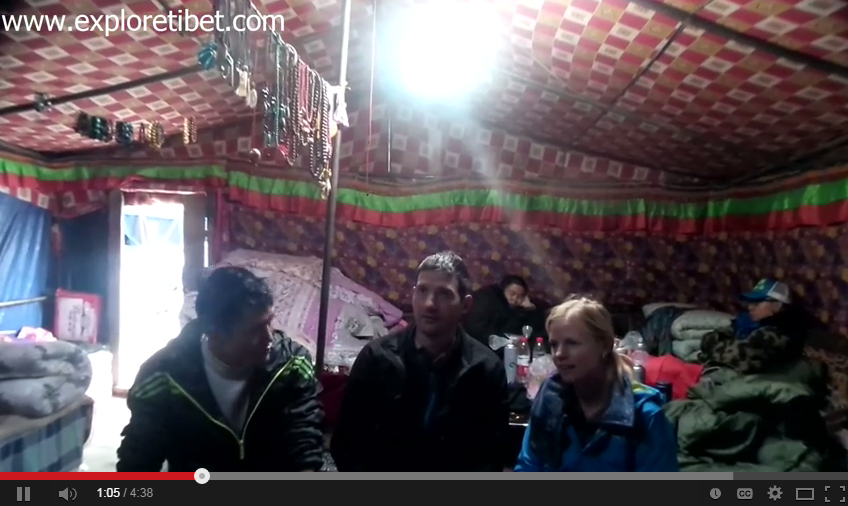 Frank Boon Tibet Travel Video Feedback in July 2014