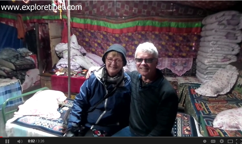 Lister Couple's Explore Tibet Travel Review in July 2014