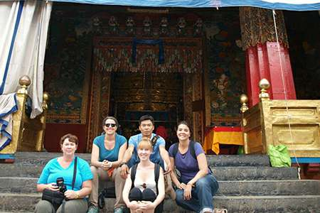 Tibet group tour to Drepung monastery