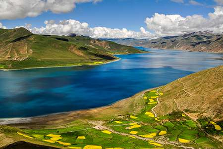 Tibet group tour to Yamdrok lake | Explore Tibet