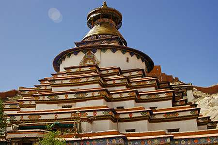 Tibet group tour to Gyantse kumbum stupa | Explore Tibet