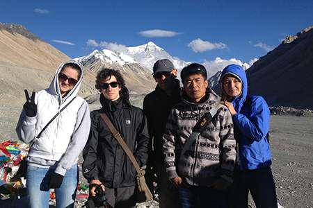 Tibet group tour at Everest Bace camp | Explore Tibet