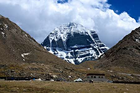 Mt Kailash view from Dirapuk