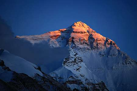 Mt Everest from Tibet