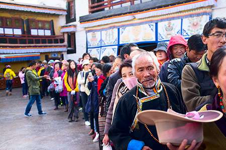 Lhasa in Tibet tour