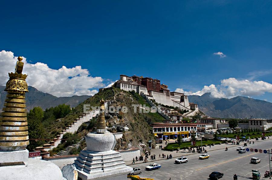 Potala palace visit in Tibet