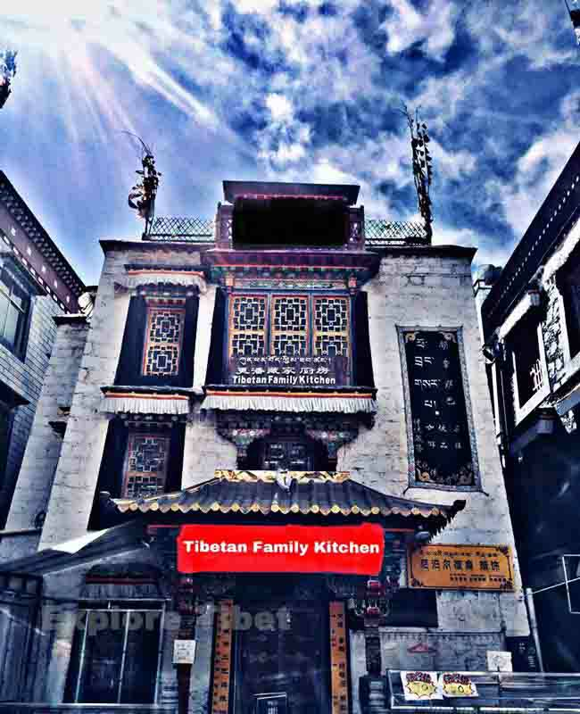 Tibetan Family Kitchen in Lhasa -Explore Tibet