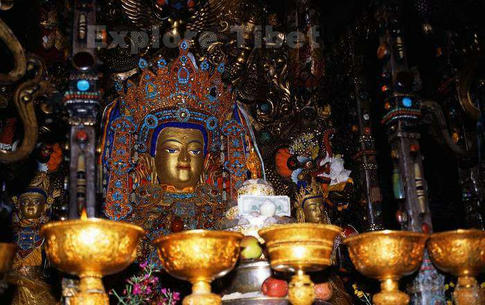 Statue of Jowo Sakyamuni at Jokhang Temple -Explore Tibet