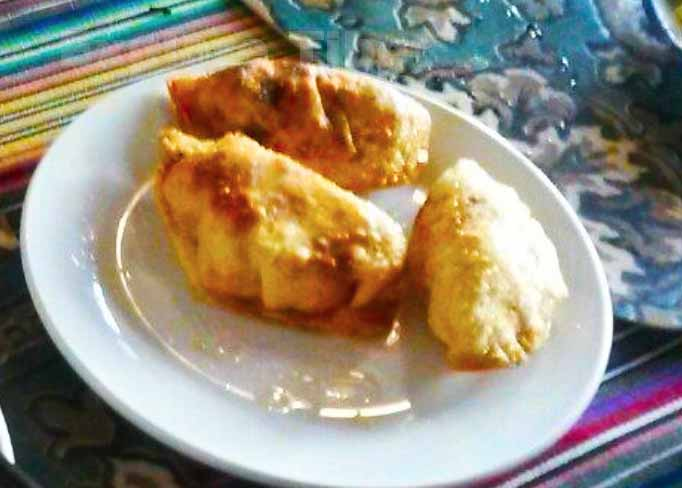 Tibetan fried dumpling -Explore Tibet
