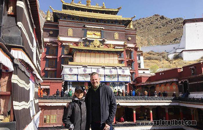 Dave and Explore Tibet's Guide Migma