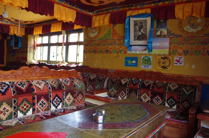 Mt Everest restaurant in Tingri -Explore Tibet