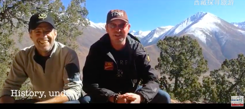 Mike and Dave talk about Tibet Tour experiences in April 2018