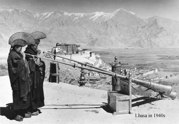 Lhasa in 1940s
