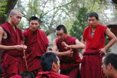 4-Debating-monks-at-Sera-mo