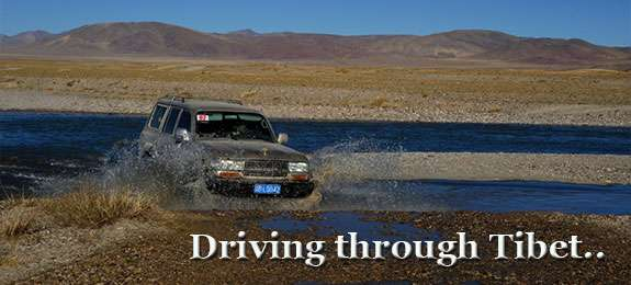 Driving Through Tibet