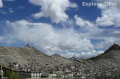 Gyantse fort view